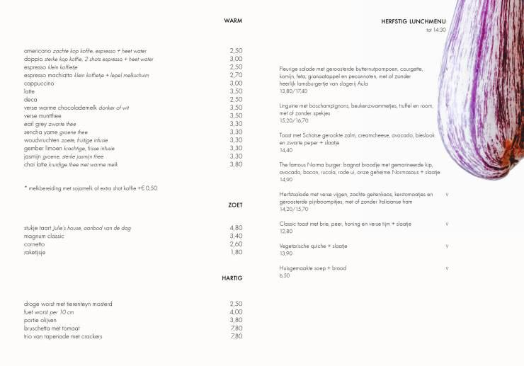 menukaart Norma herfst 2019 def online